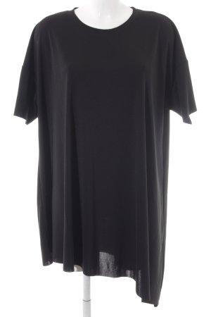 Weekday Shirtkleid schwarz sportlicher Stil