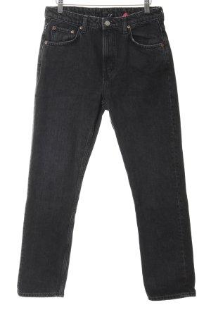 Weekday Skinny Jeans schwarz klassischer Stil