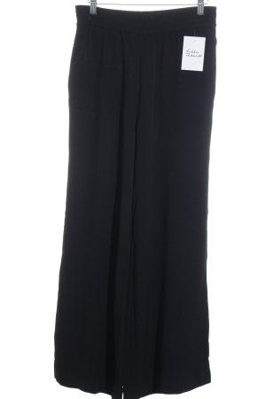 Weekday Stoffhose schwarz schlichter Stil
