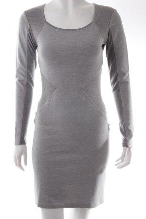 Weekday Stretchkleid figurbetont, Gr. 36, grau