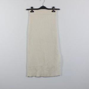 Weekday Jupe tricotée crème-blanc cassé