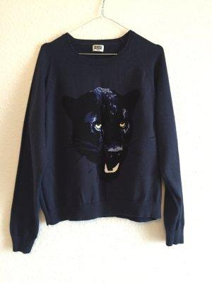 Weekday Sweater mit Tigermotiv