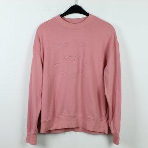 WEEKDAY Sweatshirt Gr. S rosa oversized (19/10/183)