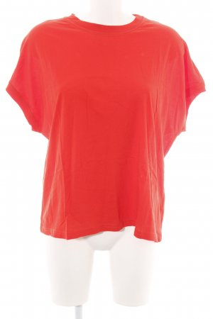 Weekday T-Shirt rot Casual-Look