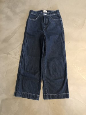Weekday 7/8 Length Jeans dark blue