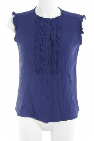 Weekend Max Mara Blusentop dunkelblau Casual-Look