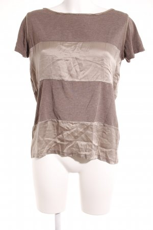 Weekend Max Mara Carmen shirt grijs-bruin casual uitstraling