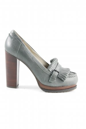 Weekend Max Mara High Heels grüngrau-braun Casual-Look