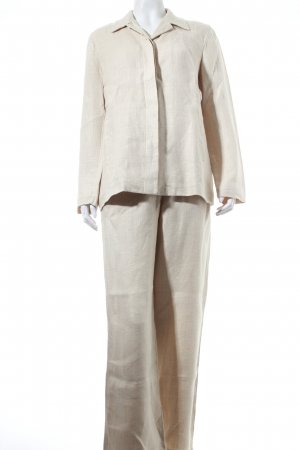 Weekend Max Mara Hosenanzug hellbeige Business-Look