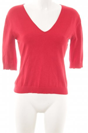 Weekend Max Mara Kurzarmpullover rot Casual-Look