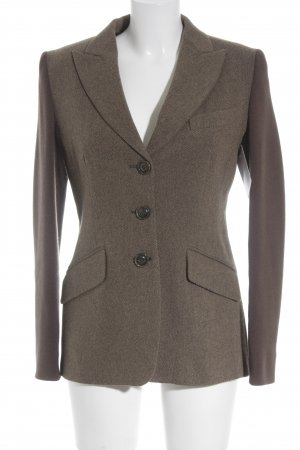 Weekend Max Mara Long-Blazer graubraun-taupe Business-Look