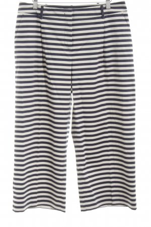 Weekend Max Mara Palazzo Pants white-black striped pattern casual look