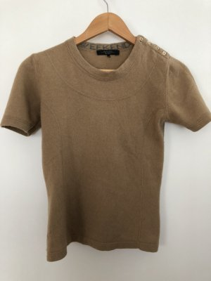 MaxMara Weekend Short Sleeve Sweater camel cashmere