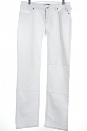 Weekend Max Mara Straight-Leg Jeans weiß Casual-Look