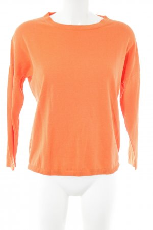 Weekend Max Mara Strickpullover hellorange Casual-Look