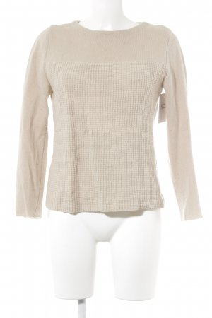 Weekend Max Mara Strickpullover beige Casual-Look