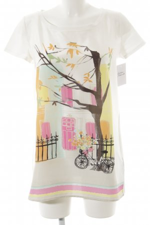 Weekend Max Mara T-Shirt Motivdruck extravaganter Stil
