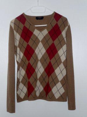 Weekend Max Mara, warmer Pullover mit Rautenmuster