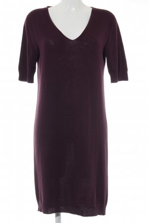Weekend Max Mara Wollkleid braunviolett Casual-Look