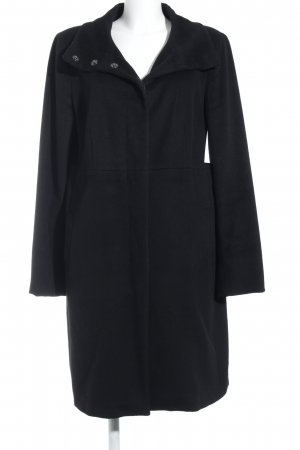 Weekend Max Mara Wollmantel schwarz Casual-Look