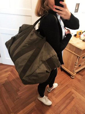 Weekender Khaki Vintage XXL Platzwunder Tasche