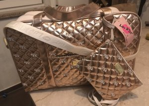 Betsey Johnson Borsa da weekend oro