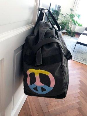 Weekender Reisetasche Khaki Olive Dufflebag Allrounder Trainingstasche XXL PEACE