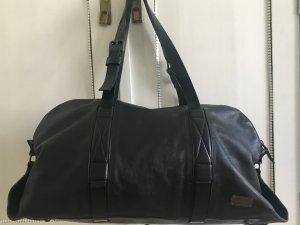 Hugo Boss Bagage noir-beige cuir