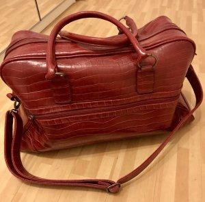 Metro Weekender Bag dark red