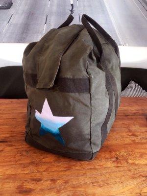 Weekender Urlaubstasche Sommertasche XXL Vintage Khaki 90L Strandtasche