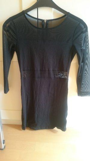 weggeh-kleid mit mesh-einsätzen