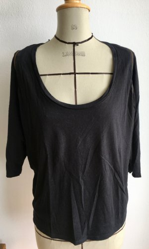 Urban Outfitters Camisa holgada negro modal