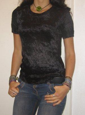 weich flauschiges Gothic Shirt