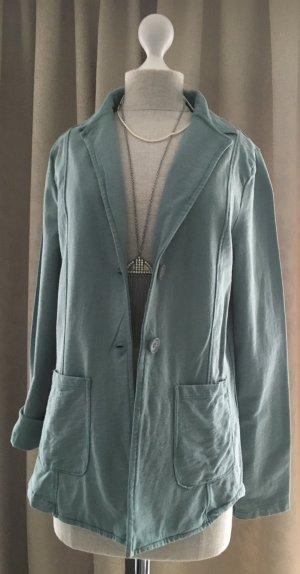 Gina Benotti Sweat Blazer cadet blue cotton