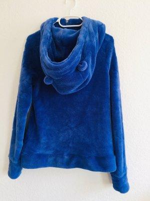 Sublevel Fleece jack blauw