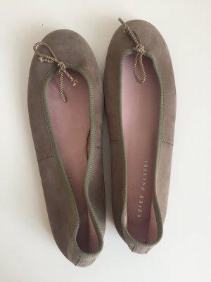 Andrea Puccini Bailarinas marrón claro Cuero