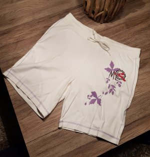 Beach Time Sport Shorts white cotton
