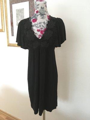 Weiche Tunika/ Minikleid, Spitze