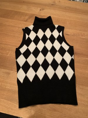 Ambiente Knitted Vest white-black