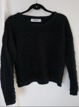 Only Wool Sweater black-dark blue