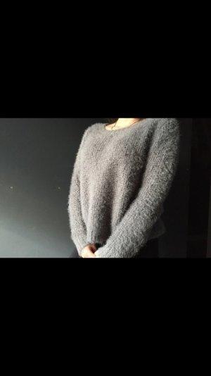 Weicher grauer Wollpulli von Tom Tailor