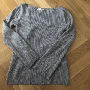 Zara Knitted Sweater grey-light grey
