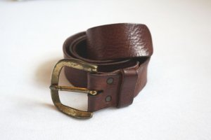 H&M Faux Leather Belt multicolored imitation leather
