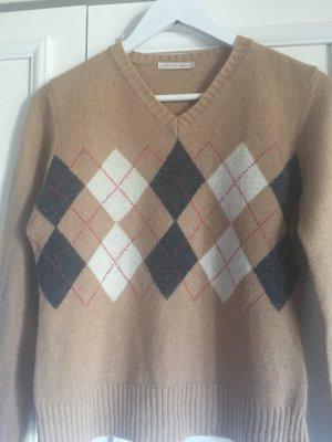 Weicher Pullover aus Wolle und Angora