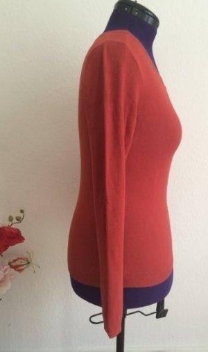 weicher Pullover in rotbraun von Vila #M