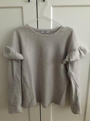 Zara Jersey de punto color plata