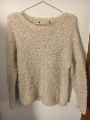 Zara Pull en laine blanc