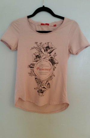 weicher rosa T-Shirt von s.Oliver; separat oder zudritt