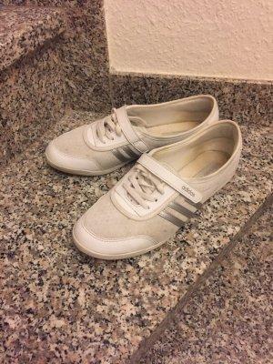 Adidas NEO Zapatillas blanco puro-color plata