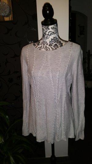 Weicher#Strick#Pullover#grey
